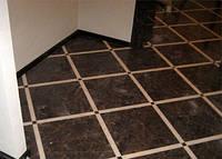 Укладка плитки на пол на сухую смесь