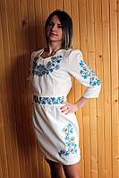 Вышитое платье (010)