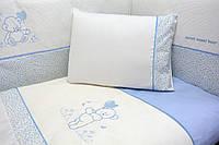 Защита бампер на кроватку Верес Sweet Bear 4 элемента