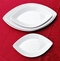 Блюдо овальное (22,5*13,5см) Хорека  (в упаковке 6 штук)