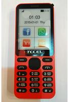 Мобильный телефон TCCEL 215 красный