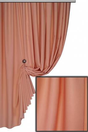 Ткань Софт-велюр №12С, Насыщеный персик, фото 2