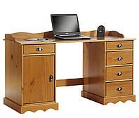 Стол письменный компьютерный из массива дерева 046