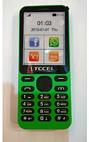 Мобильный телефон TCCEL 215 зеленый