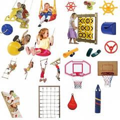 Комплектующие для детских площадок, аксессуары для производства детских комплексов
