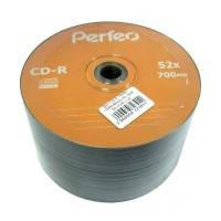 Диск Perfeo CD-R 700 MB 52x, Bulk/50