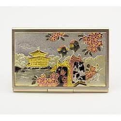 Японська візитниця «Золотий храм»