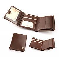 Бумажник, кошелек мужской из итальянской кожи