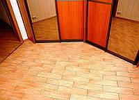 Укладка плитки пвх на деревянный пол