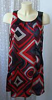 Платье женское легкое летнее атласное Soyaconcept р.42-44 6306