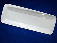 Блюдо прямоугольное 28 * 10 * 1,5 см ХОРЕКА  (в упаковке 8 штук)
