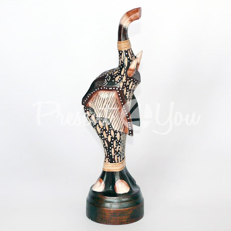 Деревянная статуэтка «Слон», 30 см.