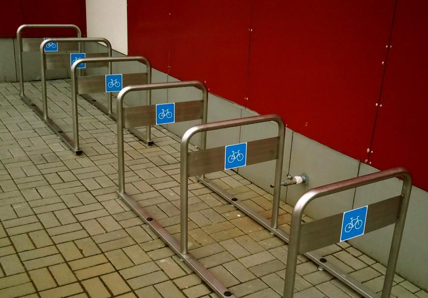 """Парковка для шести велосипедов. - ЧП """"Аброскин"""" в Черкассах"""