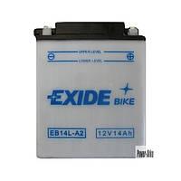 Аккумулятор Exide 12V 14AH/145A (EB14L-A2)
