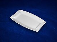 Блюдо прямоуг. (22,5 * 12,5 * 2,5 см) ХОРЕКА  (в упаковке 6 штук)
