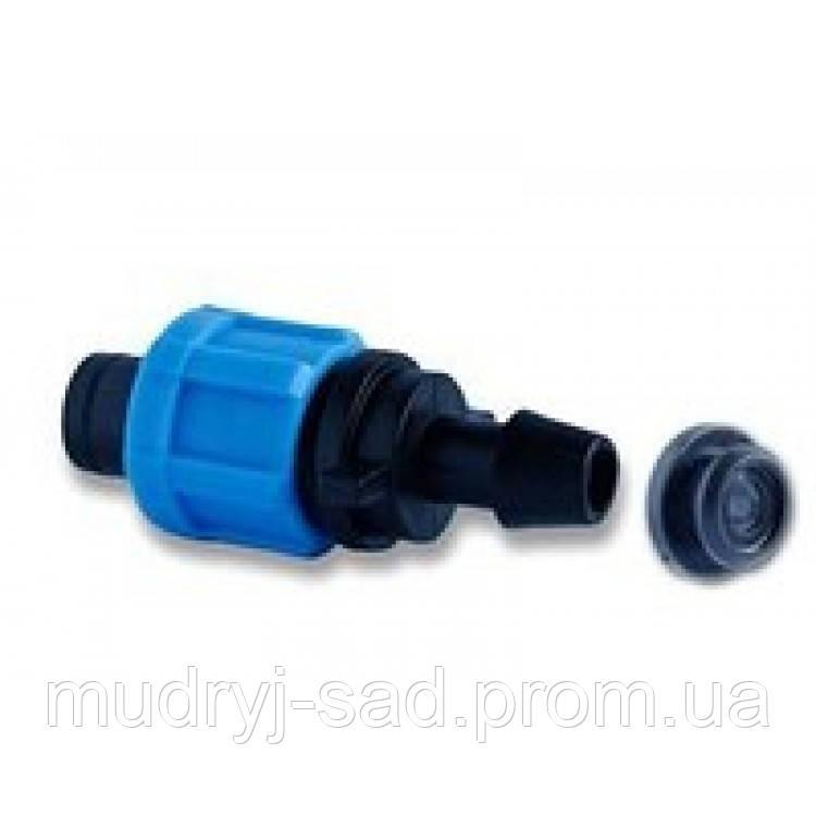 Фитинг - стартер ПЭ 12 мм с резинкой  - Мудрый Сад интернет-агромагазин в Одессе