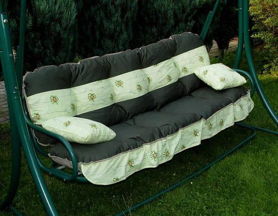 Подушки,матрасы для садовых качель 150 см., фото 2