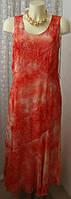 Платье женское летнее легкое элегантное модное макси бренд Pauporte р.44 6297