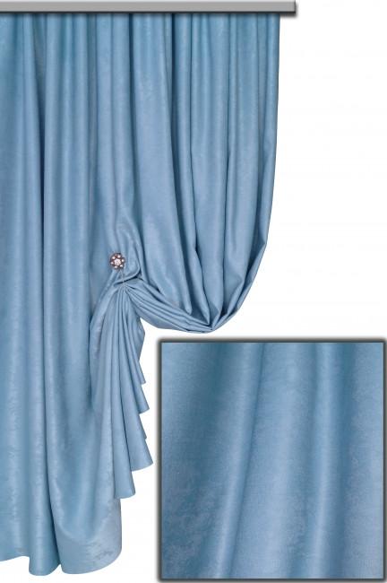 Ткань Софт-велюр №31С, Голубой