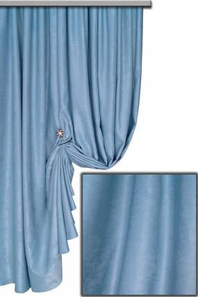 Ткань Софт-велюр №31С, Голубой, фото 2