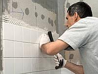 Облицовка стен ванной плиткой