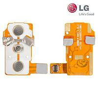 Шлейф для LG G2 D800/D802/D805, боковых клавиш, с компонентами (оригинал)