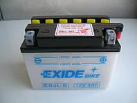Аккумулятор Exide 12V 4AH/50A (EB4L-B)