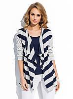 Блуза женская летняя темно-синего цвета. Модель R27 Sunwear, коллекция весна-лето 2015.