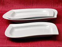 Блюдо Лепесток (25,5*18,5см) Хорека  (в упаковке 4 штуки)
