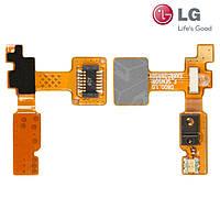 Шлейф для LG G2 D800 / D802 / D805, подсветки дисплея, с компонентами, оригинал