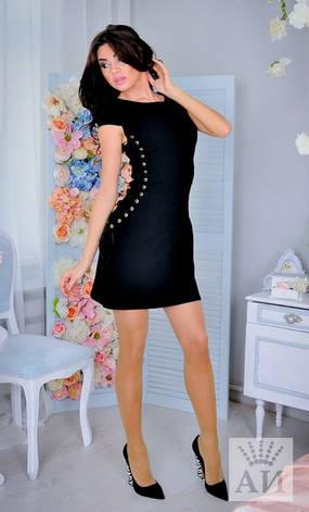 Платье по бокам со шнуровкой , фото 2