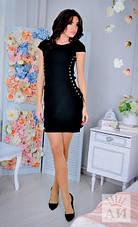 Платье по бокам со шнуровкой , фото 3