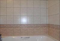 Облицовка плиткой ванны и туалета