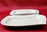 Блюдо Лепесток (35*26см) Хорека  (в упаковке 2 штуки)