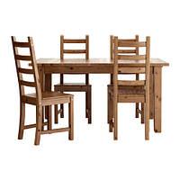 Комплект Стол + 4 стула STORNАS / KAUSTBY