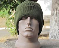 Вязанная шапка военная алива