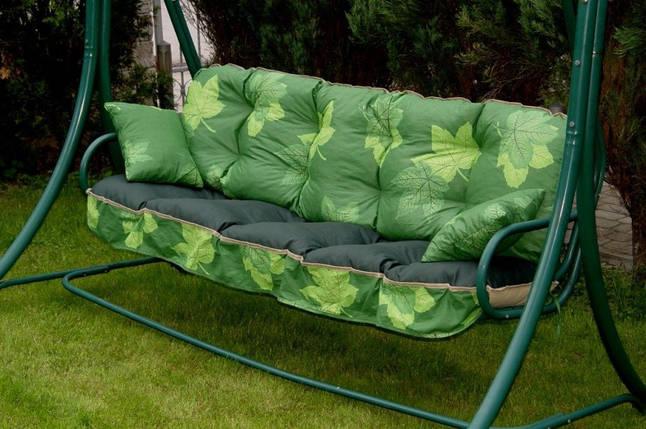 Подушки,матрасы для садовых качель 175 см, Клен, фото 2