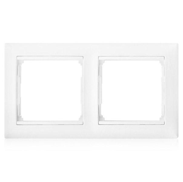 Рамка 2-ая горизонтальная белая Valena Legrand