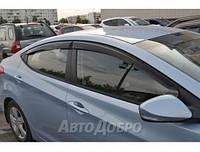 Дефлектор окон на Hyundai Elantra V Sd 2011-