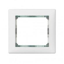 Рамка 1-ая белая (кристалл) Valena Legrand