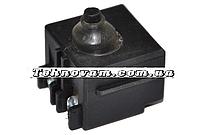 Кнопка болгарки Фиолент 125 завод(полозья)