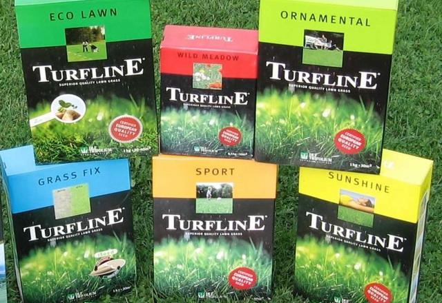 Семена газонной травы «DLF-TRIFOLIUM» Дания: серия Turfline (Турфлайн).