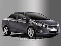 Дефлекторы окон для авто Chevrolet Aveo Sedan c 2011-