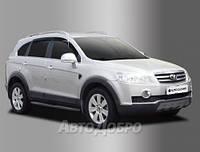 Дефлекторы окон для авто Chevrolet Captiva c 2011-2012