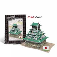 W3149h Трёхмерная головоломка – конструктор CubicFun «Япония. Замок Осака»