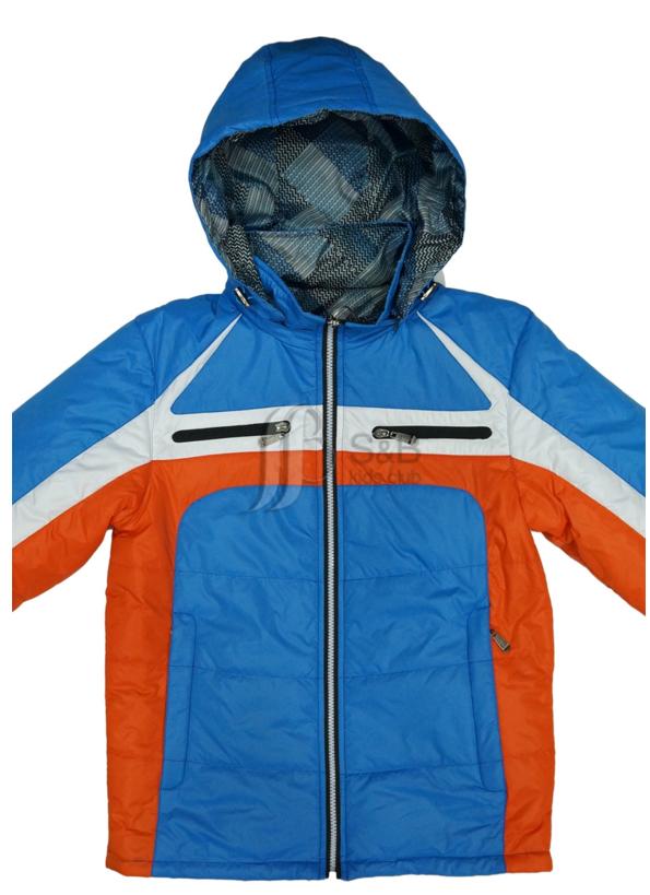 Куртка весеняя двухсторонняя для мальчика на одинарном силиконе