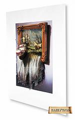 """Набор для создания объемной картины из бумаги """"Море в картине"""""""