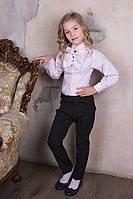 Нарядные школьные брюки для девочки