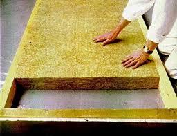 Укладка плит тепло/шумо-изоляции