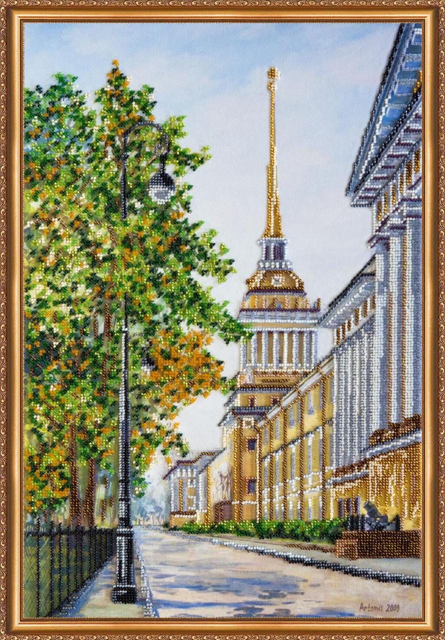"""Набор для вышивания бисером """"Городские зарисовки-1"""""""